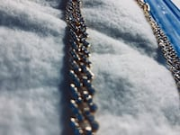 Cuban link iced out chain men/women very long can be shortened