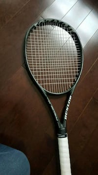 black and white Dunlop tennis racket Pickering, L1X 2S8