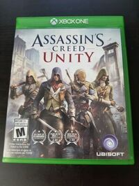 Assassin's Creed Unity Xbox One game  Kitchener, N2C 2P1