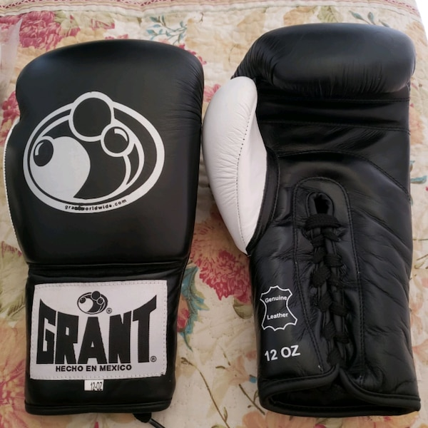 Grant boxing gloves great quilty replica