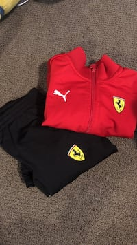 Ferrari tracksuit size 2 in great condition