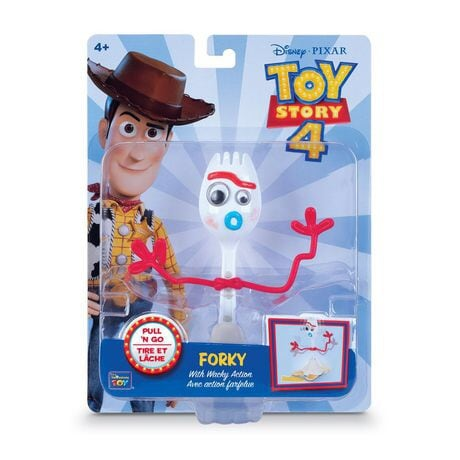 Forky Toy Story 4 In the box never open Disney Pixar