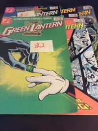 JUST REDUCED comics The Green Lantern Corps    Rockville