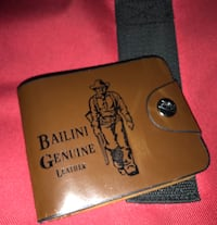 100% genuine leather new wallet($13) Reading, 19611