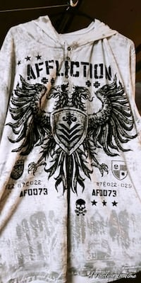 Affliction long sleeve shirt