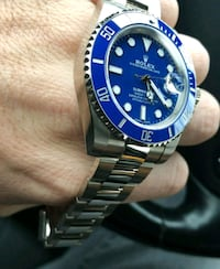 Blue Smurf 40mm SS Automatic