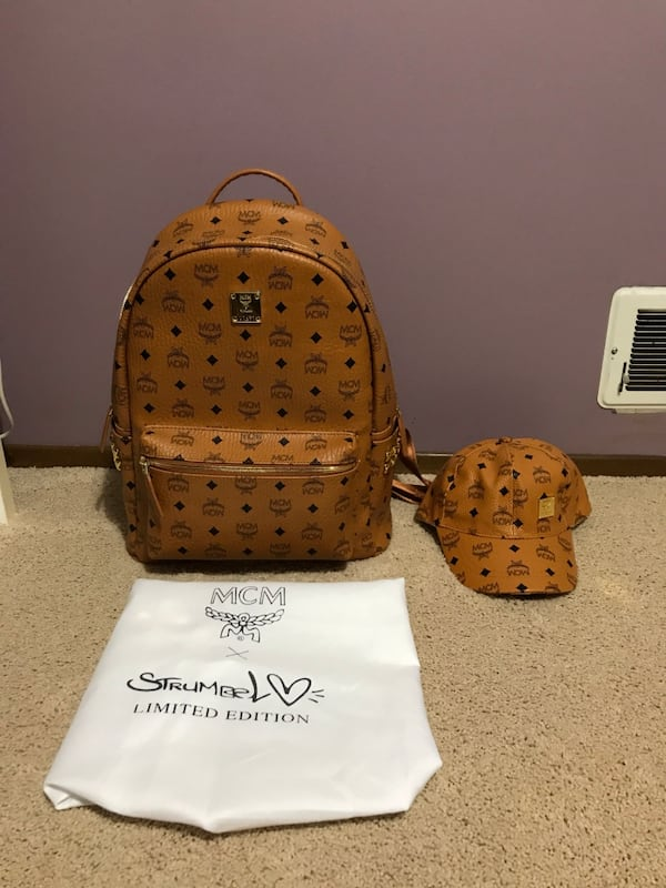 FREE MCM HAT With purchase of Mcm Backpack 7d45aa4b-de18-4428-9244-3ec5568bf2ac