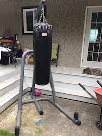 black and gray Everlast heavy bag Surrey, V3S 4T3