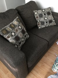 gray fabric 2-seat sofa London, N6C 4B1