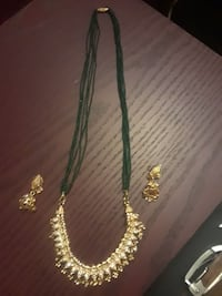 Necklace and earring set Carmichael, 95608