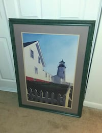 "Picture Frame ""Lighthouse"" Norfolk, 23505"