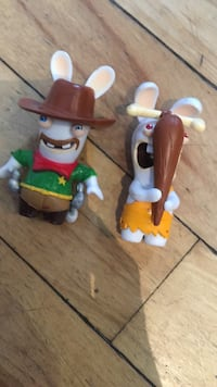 white and green dressed cartoon Character miniature toys Halifax, B3K 3V9