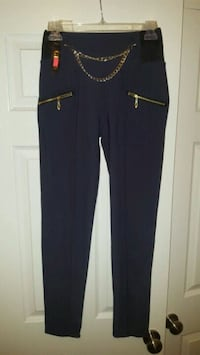 (Brand new with tags) Stretchy pants w/ gold chain Owasso, 74055
