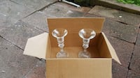 Crystal Candle Holders (A Pair) Herndon