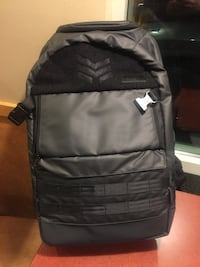 black and gray leather backpack Las Vegas, 89103