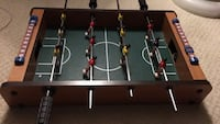Brown and black foosball table Calgary, T2W 5S6
