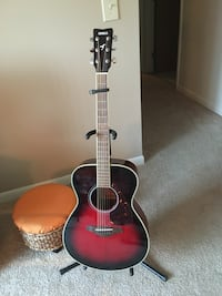 Black and red acoustic guitar Tipp City, 45371