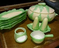 Corn Cob Dishes Set Uniontown, 44685