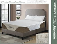 """KING Or QUEEN 10"""" ICE Cool® Memory Foam Mattress Charlotte, 28216"""
