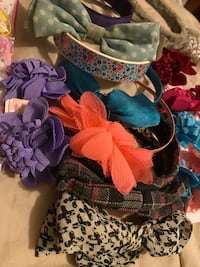 Girls hair Accessories bundle