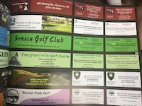 2019 Golf coupons Liverpool, 13090