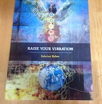 Raise your vibration book excellent condition Edmonton, T6L 3A5