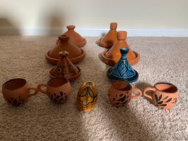 Moroccan decorations , Tagine for cooking and non cooking