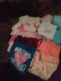 6to9months girls 8outfits two pants two bloomers o Hephzibah, 30815