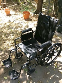 Wheelchair with foot pedestals and with reclining  Norman, 73069