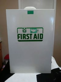 white first aid box size of a medicine cabinent Las Vegas, 89147