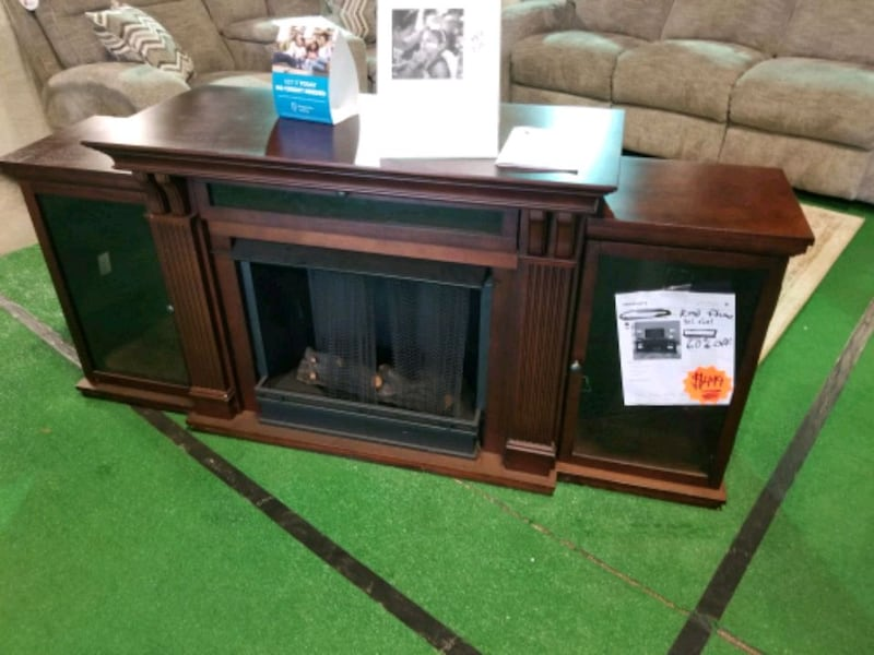 TV stand- real fuel gel fireplace with tv stand  c3b99bd9-c60a-44ae-bdc3-b2be482460e7