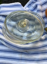 round clear glass bowl with lid Longwood, 32750