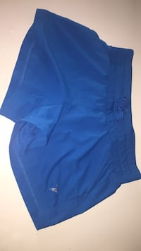 Blue, active wear shorts. Fits nine and ten year old's Nanaimo, V9T 0J7