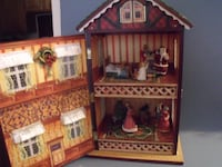 brown and red wooden dollhouse Wappingers Falls
