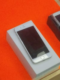 silver iPhone 6 with box Houston, 77086