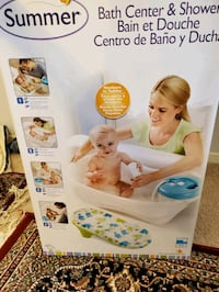 baby bath center and shower