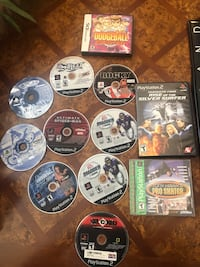 Play station games 5.00 ea.