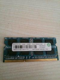 2 gb ramaxel DDR3 notebook ramı Ankara