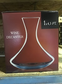 Wine decanter Brand New  Mississauga, L5B 3R6