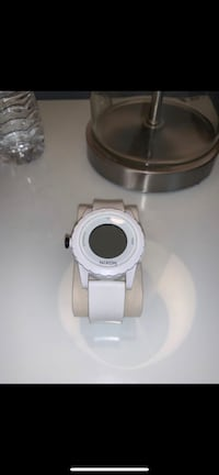 White Nixon Watch