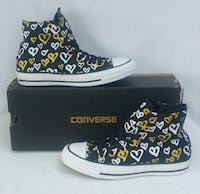 Women's Size 5 Shoes Converse High Tops Brand New Los Angeles