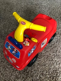Disney's Mickey Mouse activity ride on fire truck Prince Frederick, 20678