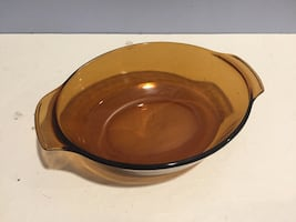 Anchor Hocking Amber Oval Ovenware 433