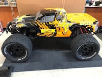 New ecx ruckus brushed electric rc monster truck ready to run store pick up only Haines City, 33844