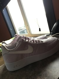 AF1 very light pink and white  Halifax, B4B 1S6