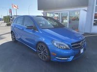 2014 Mercedes-Benz B-Class NAV| PANO ROOF| ALLOYS| LEATHER| MEMORY SEATS Langley City
