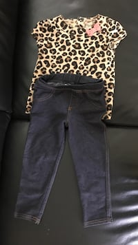 black and white leopard print pants Surrey, V3R 6Y2