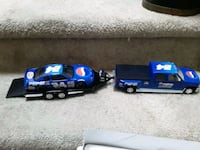 1/24 scale Pepsi pickup Truck trailer car