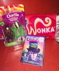 CHARLIE and the CHOCOLATE FACTORY WIDESCREEN MOVIE ( Sealed ) Quincy, 02169