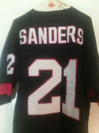 black and red NFL jersey Columbus, 31907